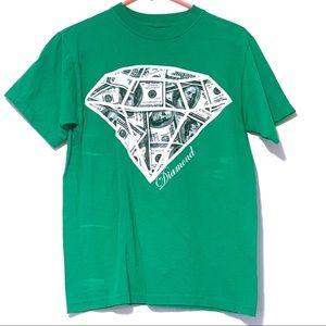 5/$20 Locked & Loaded Small TShirt Diamond Money